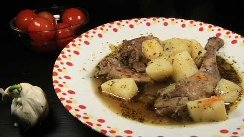 Блюда из кролика для детей