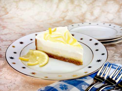 Классический лимонный чизкейк