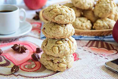 Очень вкусное печенье из овсяных хлопьев