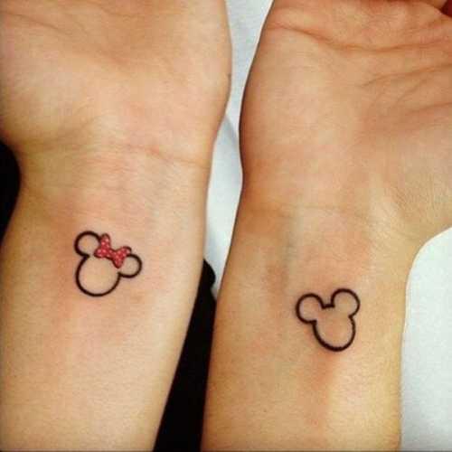 Любовь на коже: 13 идей крутых парных татуировок фото