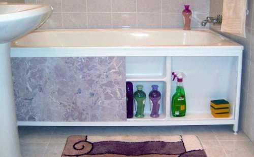 ПРАКТИКческие советы Экран для ванной