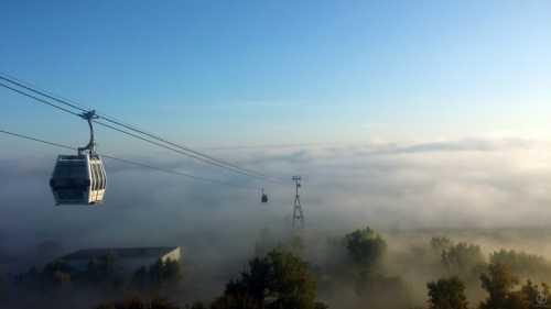 Канатная дорога в Нижнем Новгороде