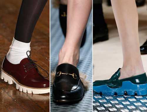 Модная обувь осень
