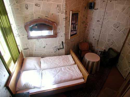 Неудобная комната