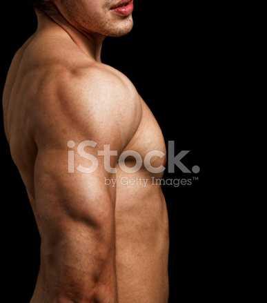 С мужского плеча