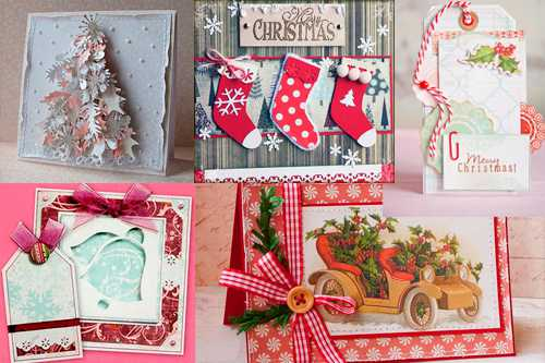 Открытки с Рождеством своими руками:  красивые и стильные поздравления
