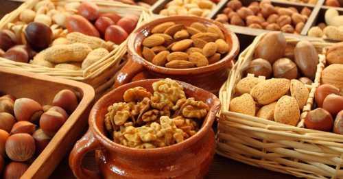 Поговорим о пользе орехов