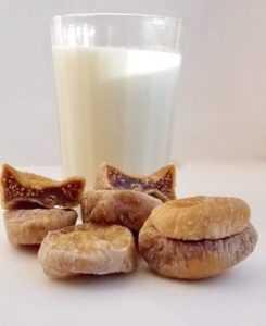 Инжир с молоком от кашля для детей и взрослых,