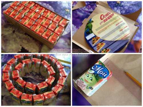 Торт из конфет своими руками: как сделать вкусный