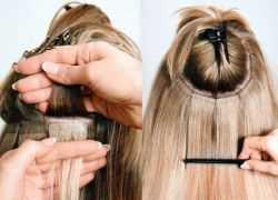 Что лучше: классическое наращивание волос или с помощью специальных заколок