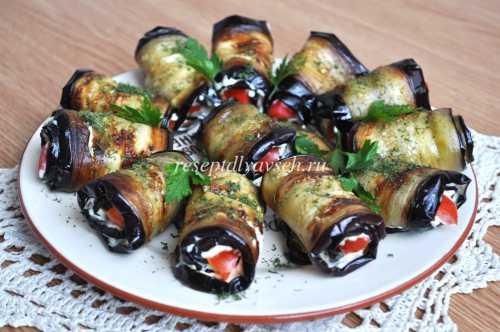 Рецепты холодных закусок из баклажанов, секреты