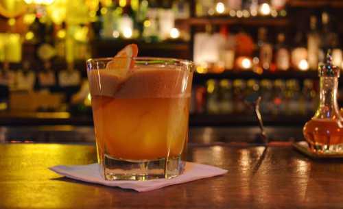 Коктейли с виски