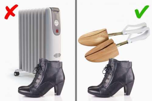 Советы по уходу за зимней обувью