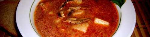Рецепты супа из кильки в томатном соусе, секреты