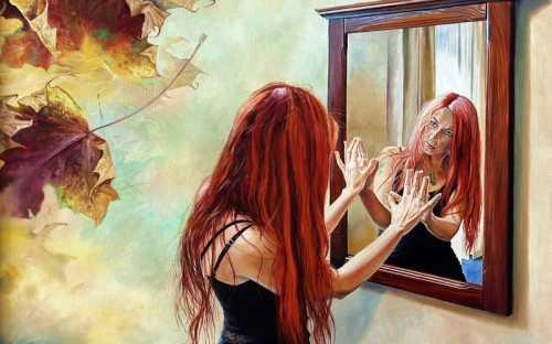 К чему снится зеркало видеть себя в зеркале