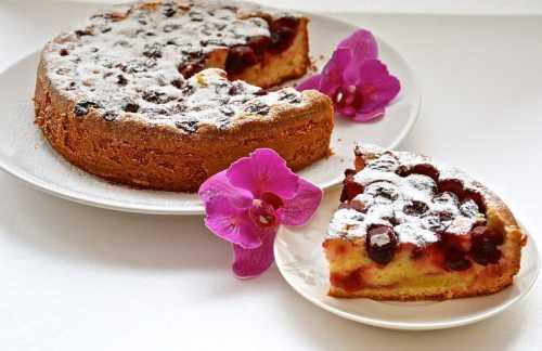 Рецепты пирога с вишней в мультиварке, секреты