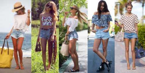 Модные шорты — носим весь год