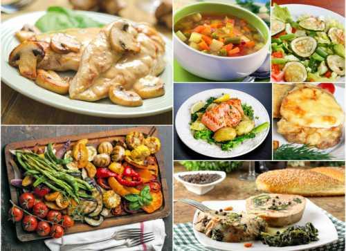7 ужинов: что приготовить вечером