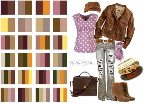 Модные цвета одежды – осень