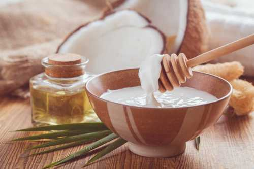 Кокосовое масло для лица, применение,  лечебные