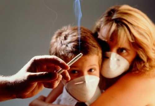Третичное курение может стать причиной развития