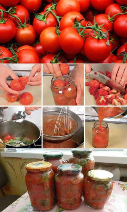 Узнай как заготовить помидоры на зиму без