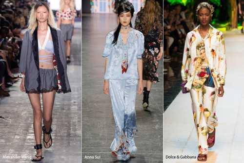 Пижамный стиль: главный тренд лета