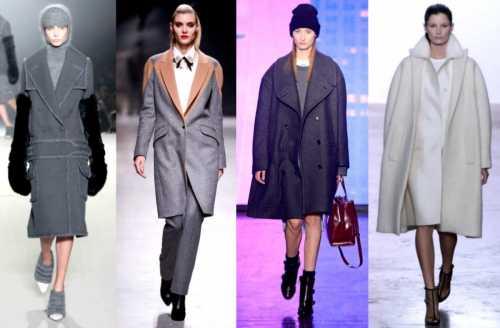 Тенденции моды: модные пальто