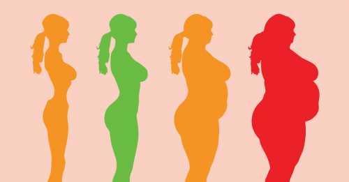 Почему с возрастом женщины набирают вес легче,