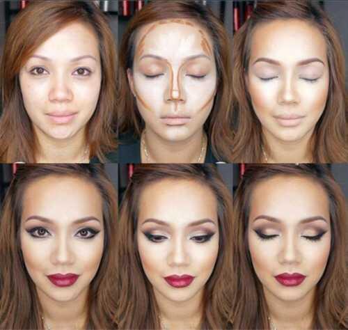 Как правильно наносить макияж фото