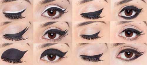 Как подобрать стрелки по форме глаз: правила и советы