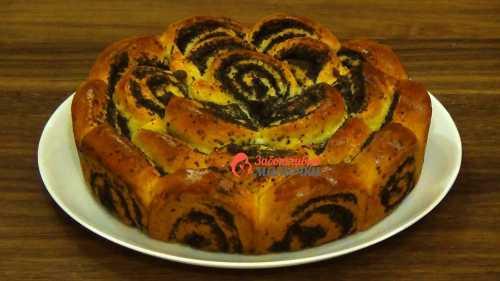 Рецепт пирога с маком, секреты выбора