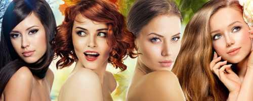 Какой цвет волос выбрать женская психология