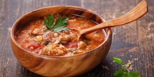 Пошаговый рецепт супа харчо,  секреты выбора