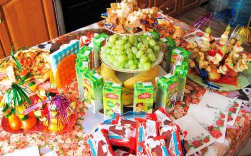 Что приготовить на День Рождения ребенка, секреты