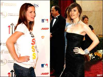 Яркий пример того, что женщина может выглядеть замечательно как во время, так и после беременности