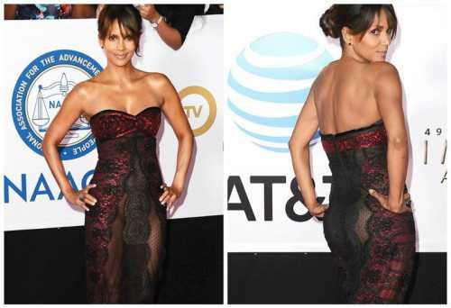 Любовь к прозрачным платьям объяснима, ведь у неё просто восхитительная для её возраста фигура