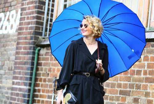 Зонт как аксессуар: идеи от фэшн
