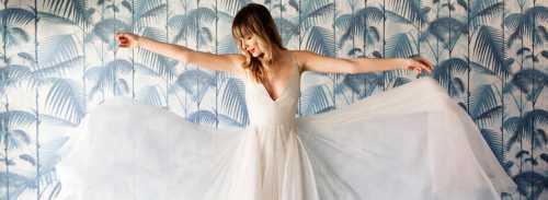 Главное украшение невесты — искрящиеся глаза, а не платье
