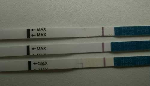 Беременность при отрицательном тесте