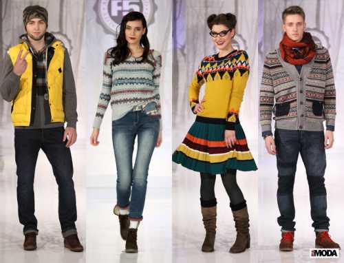 Тенденции молодежной моды — зима 2014