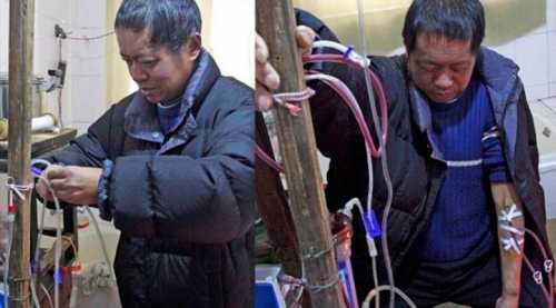 В Китае бедняк сам сконструировал себе аппарат