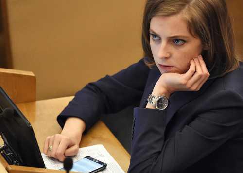 Поклонская раскритиковала избирательную кампанию Собчак