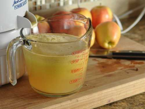 Рецепты сока из яблок без соковыжималки, секреты