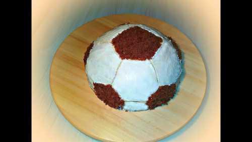 Рецепты торта Футбольный мяч: секреты выбора
