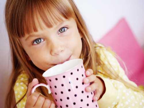 С какого возраста ребёнку можно зелёный чай,