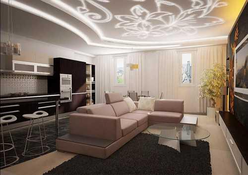 ПРАКТИКческие советы  Дизайн потолков
