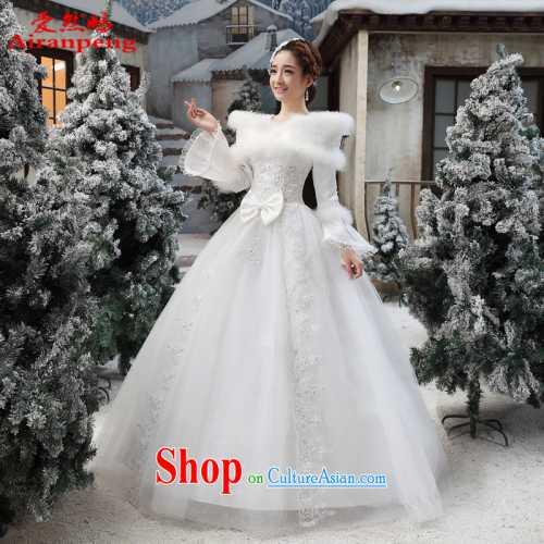 Какое оно — зимнее свадебное платье