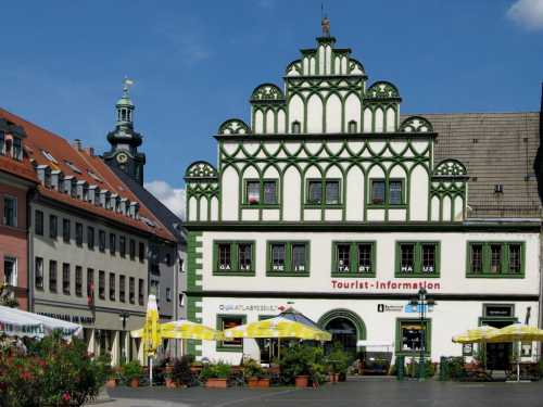 Веймар — культурное богатство Германии