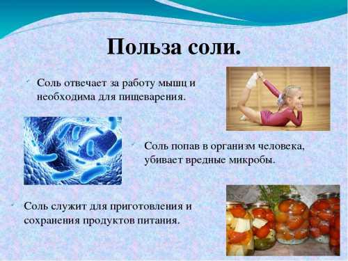 Что вы не знаете про сахар и про соль